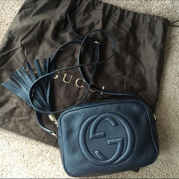 e891424c36cc7a Gucci Bags | Soho Disco Bag Navy | Poshmark