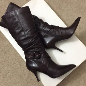 Bakers Shoes - Bakers Brown tall boots