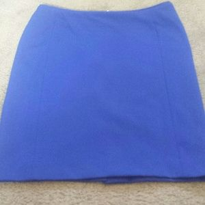 Blue H&M Pencil Skirt