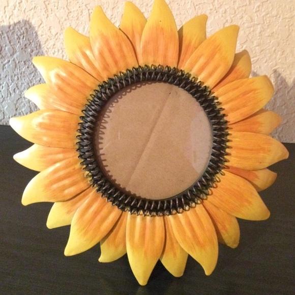 Kohls Other | Sunflower Photo Frame | Poshmark