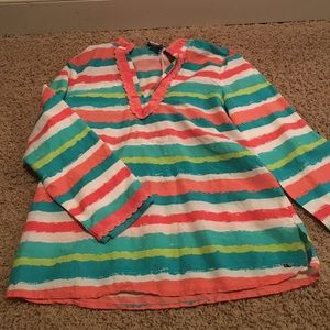 Vineyard Vines water color shirt
