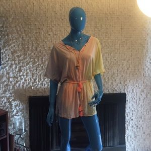 Shaka Tie Dye Cover Up by Gypsy05 - NWT