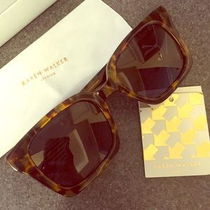 Karen Walker Accessories - Karen Walker Praise Keeper Sunnies
