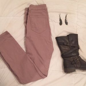 Cello brand taupe skinny jeans