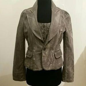 Jackets & Blazers - **Distressed Blazer**
