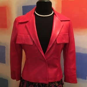 Dolce & Gabbana Couture Leather Jacket