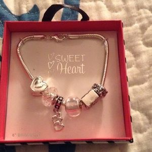 Sweet Heart charm bracelet 1 of 4