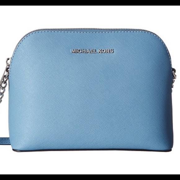 d207158c436c Sky Blue Michael Kors Cindy Large Dome Crossbody.  M_56de37814127d0514100aa47. Other Bags ...
