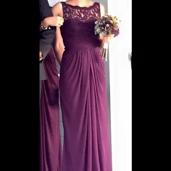 Davids Bridal Dresses Plum Formal Dress From Davids Bridal Poshmark