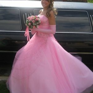 Prom dress from Chicagos famous Peaches boutique