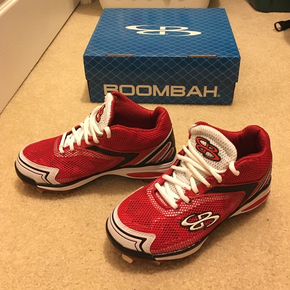 42 boombah shoes boombah rage metal cleats from