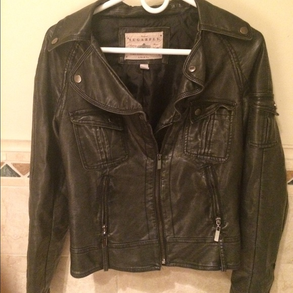 50% Off Jackets U0026 Blazers - Very Cute Black Leather Jacket ...