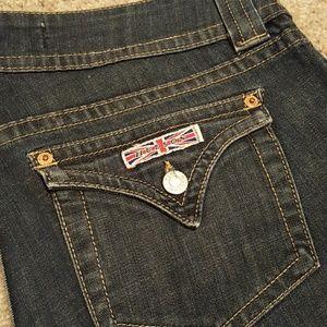 Hudson Jeans Denim - Hudson dark wash flare leg jeans