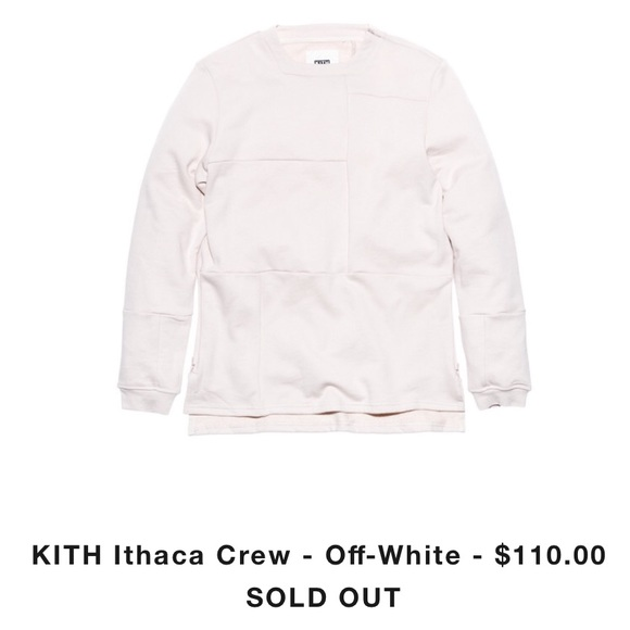 Kith Sweaters - Kith Ithaca crew