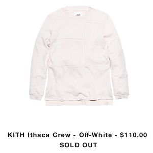 Kith Sweaters - Kith Ithaca crew