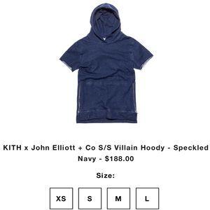 Kith Sweaters - Kith x John Eliot villain hoodie