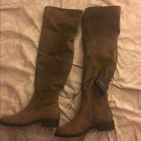 Knee Faux Suede Boots | Poshmark