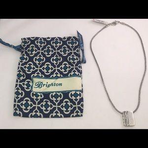 Brighton Jewelry - Brighton Train Of Hearts (S40050) Necklace w/Bag