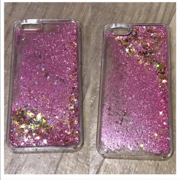big sale 16435 8623e Snow Globe Pink Glitter iPhone 6 Plus Case