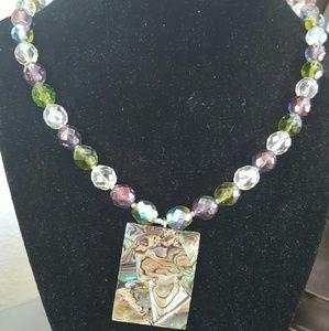 Jewelry - Abalone Pendant Necklace