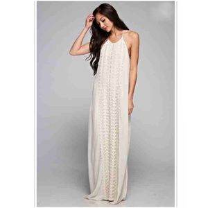 ⭐️Small⭐️NWT Embroidered Maxi Dress
