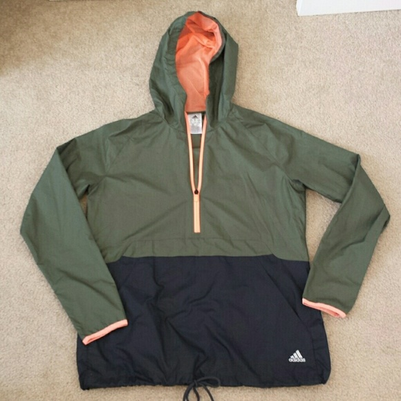38% off Adidas Jackets & Blazers - 🚫SOLD🚫Adidas half zip women's ...