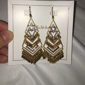 Stella & dot horizon statement earrings