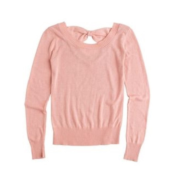 Delia's - 🌿 Blush Pink Bow Sweater from Julia 🌿's closet on Poshmark