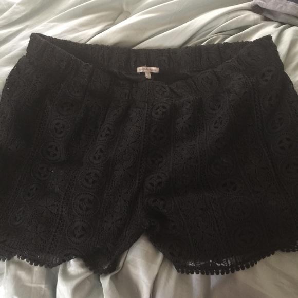 50% off charlotte russe pants - charlotte russe plus size lace
