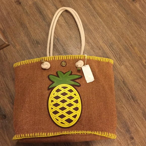 47448595828 Tory Burch Pineapple Bag