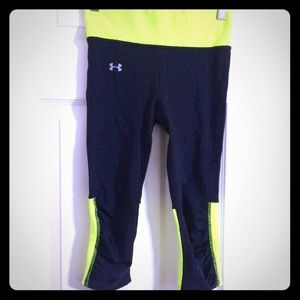 UA running pants.