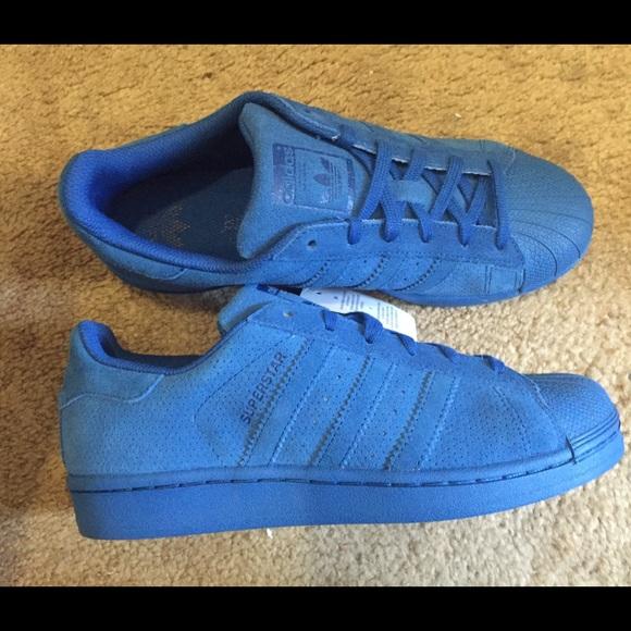 adidas superstar colors blue