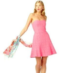 NWT LILLY PULITZER Pink Strapless Dress