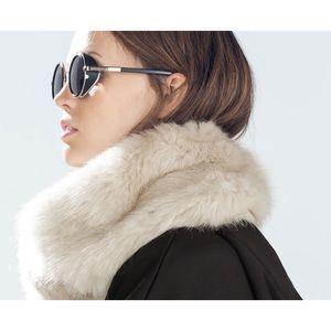 Zara Faux Fur Scarf