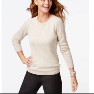 Charter Club Sweaters - CHARTER CLUB 2ply Crewneck Cashmere Sweater