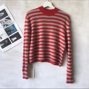 Autumn Cashmere Sweaters - AUTUMN CASHMERE Mock Neck Cashmere Sweater