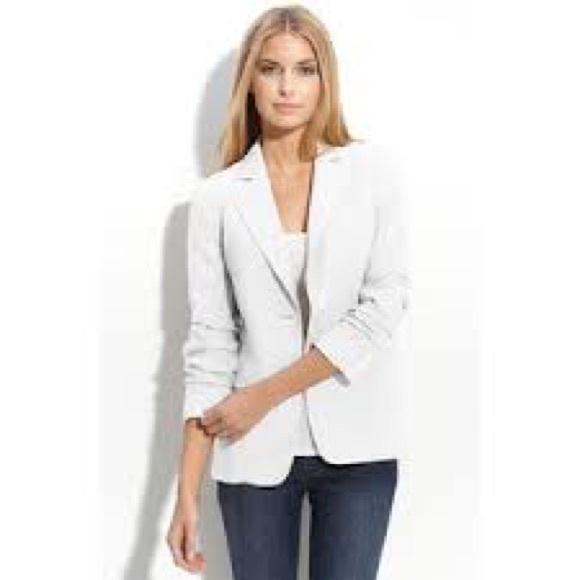 d03392975408c NEW Michael Kors Shirred Sleeve Boyfriend Jacket NWT