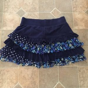 Justice Other - Kid's ruffle lace skirt