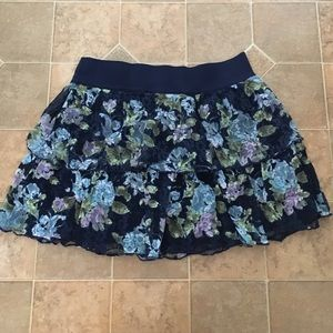 Justice Other - Kids floral lace skirt