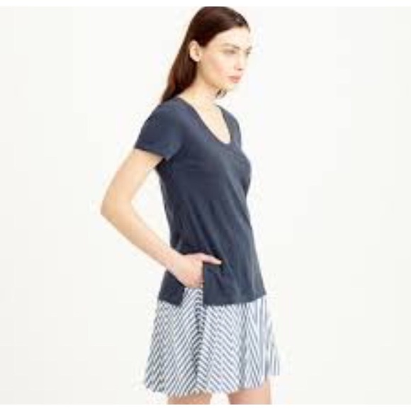 57% off J. Crew Tops - NWT J Crew blush colored t-shirt from ...