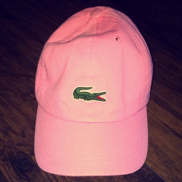 96c46072d90 Lacoste Accessories - Lacoste light pink baseball cap