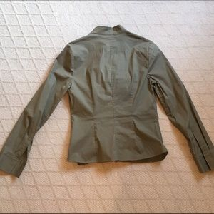 Moda International Tops - Express fitted ruffle blouse