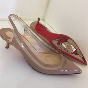 Authentic Christian louboutin pumps