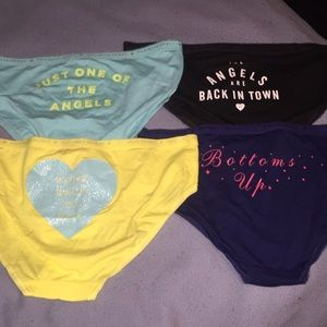 03040c069285 PINK Victoria's Secret Intimates & Sleepwear - New Arrival. Set of 4 VS  Underwear.