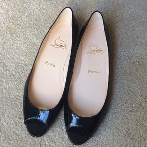 Christian Louboutin Shoes | Flats \u0026amp; Loafers - on Poshmark