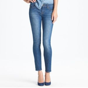 J. Crew Ankle Stretch Toothpick Jean
