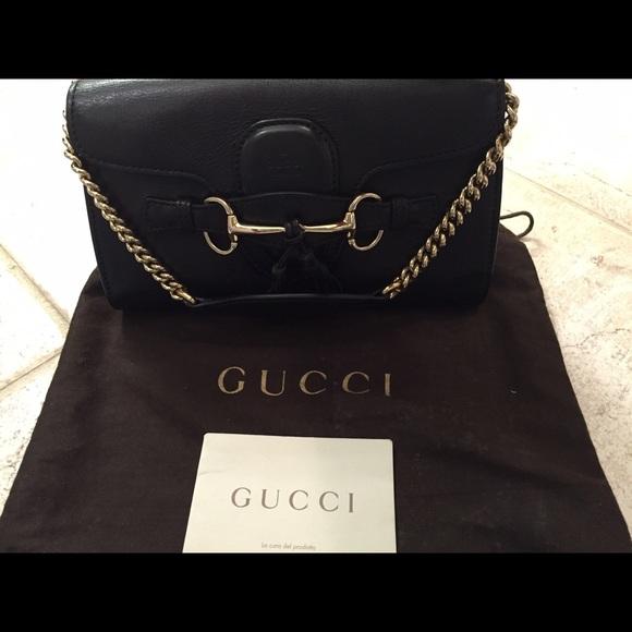 817392c89585 Gucci Bags | Emily Mini Shoulder Bag | Poshmark