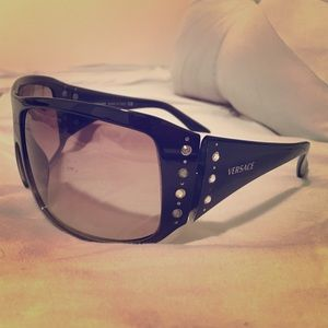 Versace Black Sunglasses