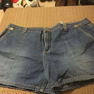 Women's Carolina blues blue shorts