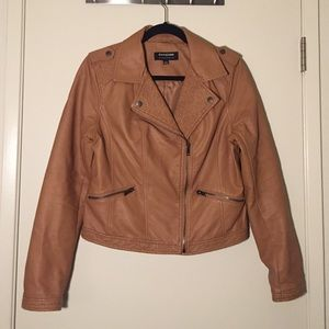 Jackets & Blazers - Cleo Faux Leather Jacket